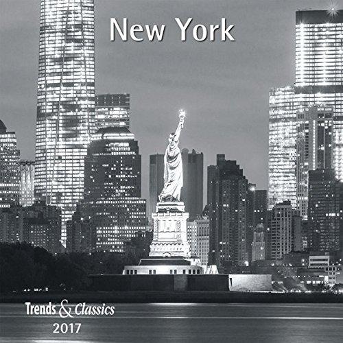 New York 2017 - Broschürenkalender - Wandkalender - mit herausnehmbarem Poster - Format 30 x 30 cm