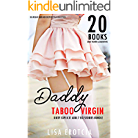 DADDY TABOO VIRGIN: 20 Dirty Explicit Adult Sex Stories Bundle: Big Rough Hard Men Deep Erotica Collection (Dark Women & Daughters Book 1)