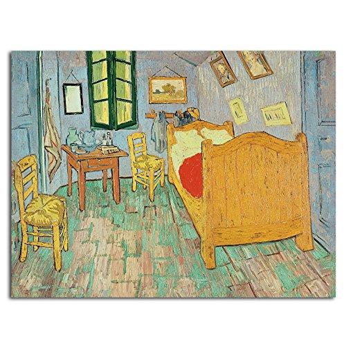 Trademark Fine Art Van Gogh's Bedroom at Arles by Vincent Van Gogh, Unframed, Rolled Print, 18 by - Arles Poster Print