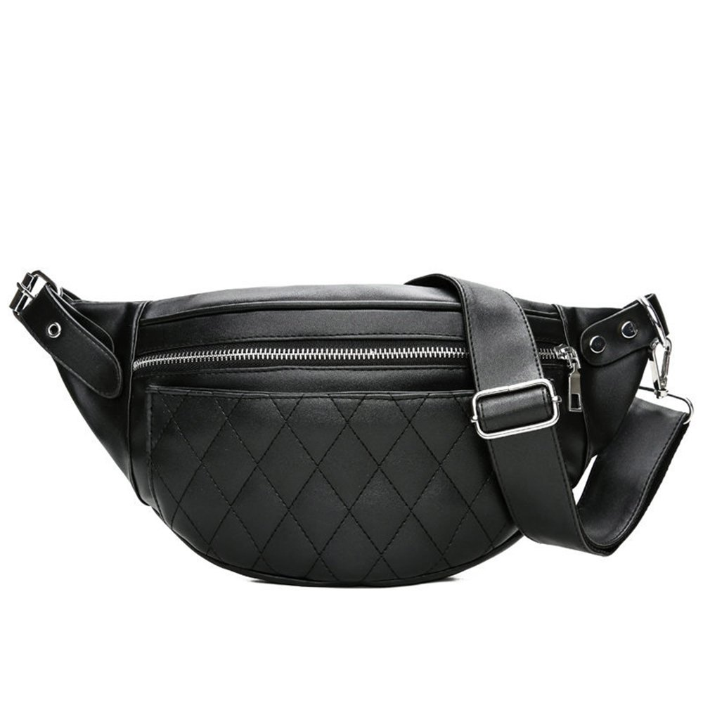 Quilted Fanny Pack Women Waist Bag Travel Cell Phone Pouch Bags
