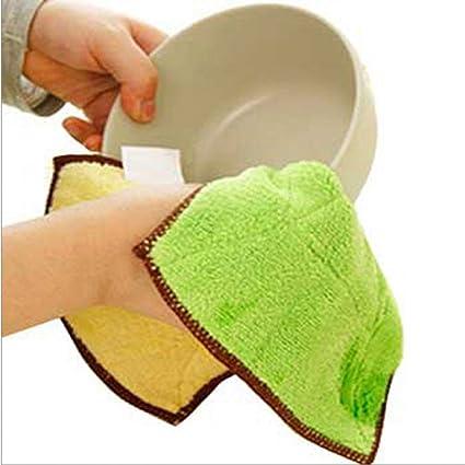 Toalla de Limpieza fregando paño de cocina