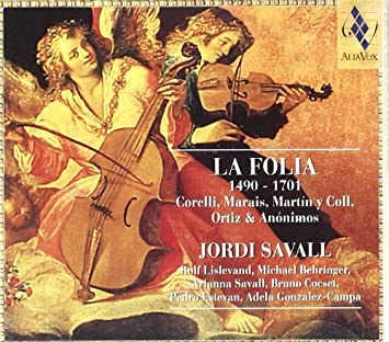 Image result for la folia jordi savall amazon