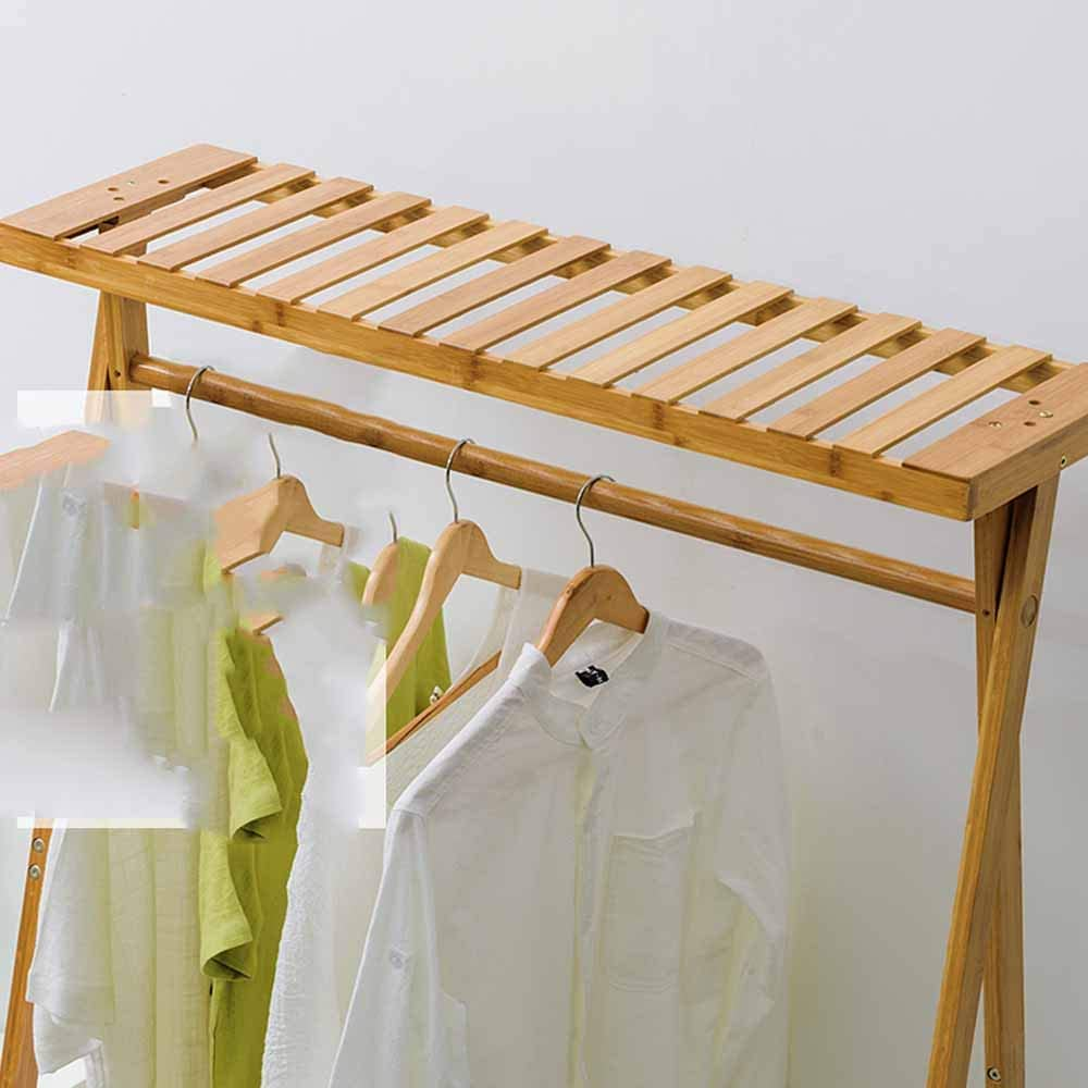 LM-Coat rack Perchero pie Perchero, Almacenamiento de 2 Capas ...