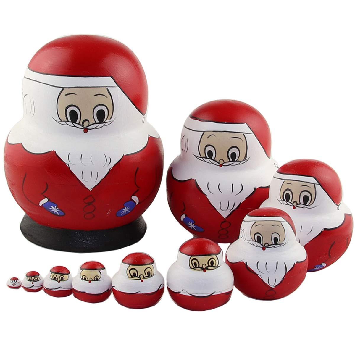 JAGENIE 5/x Engel Prinzessin Matroschka Holz Matroschka Puppen Kinder Spielzeug Geschenk