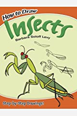 How to Draw Insects (Dover How to Draw) Paperback
