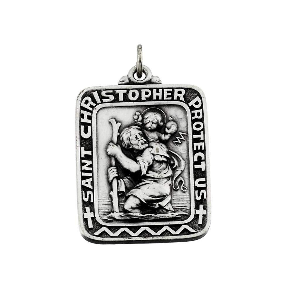 Christopher Pendant DiamondJewelryNY Sterling Silver St