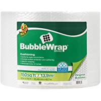 """Duck Brand Bubble Wrap Roll, Original Bubble Cushioning, 12"""" x 150', Perforated Every 12"""" (284054)"""