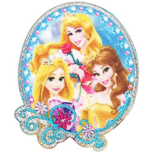 ミノダ ディズニープリンセス ティアラワッペン オーバル大 D01Y9171の商品画像