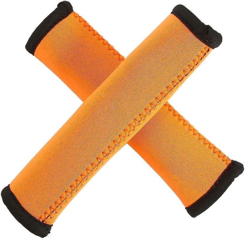 Tbest Pu/ños de Kayak Apretones para Remos Antideslizante Suave Kayak Canoa Paddle Grips 15 cm 1pair Buceo Canoa Remando Grips Apretones de Paddle Manija para un eficiente remar