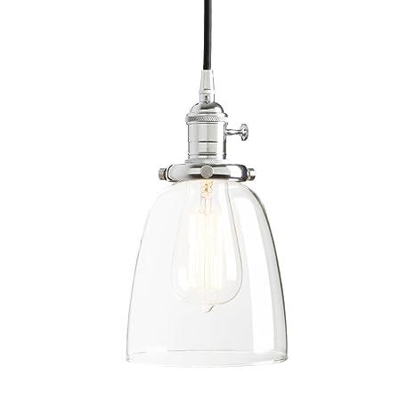 Pathson 14.3cm Lámpara colgante Iluminación colgante Vintage ...