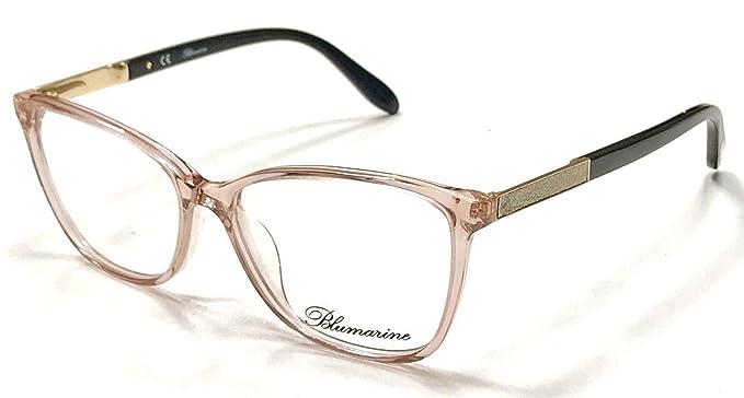 8693a4267ce7d Blumarine - Monture de lunettes - Femme Rose Rose   Noir femme ...