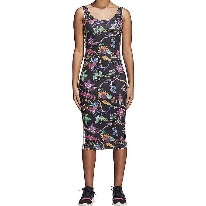 Vestido adidas – Tank Slim negro/blanco/multi talla: 34 S (Small