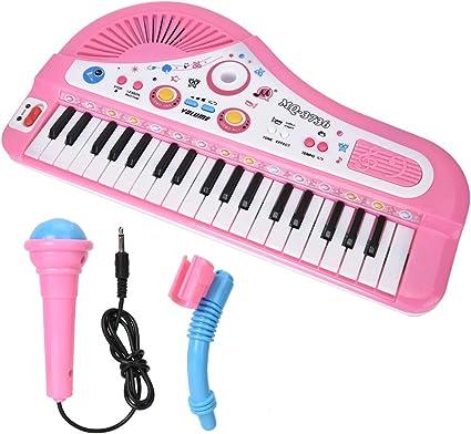 fuwinkr Piano para niños, Instrumentos Musicales de Juguete ...