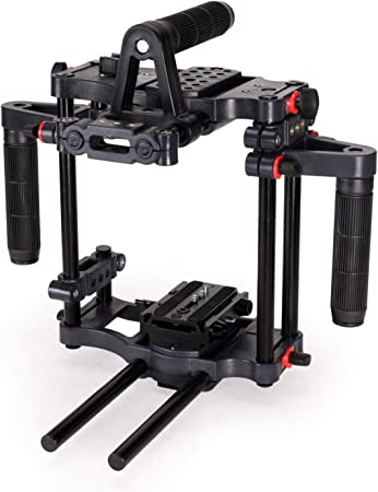 Filmcity Power Mount Dslr Video Kamera Cage Rig Cage Kamera