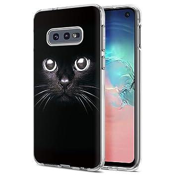 ZhuoFan Funda Samsung Galaxy S10e, Cárcasa Silicona Transparente ...