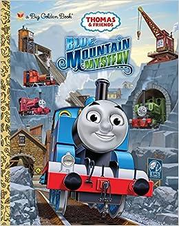 amazon blue mountain mystery thomas friends big golden book