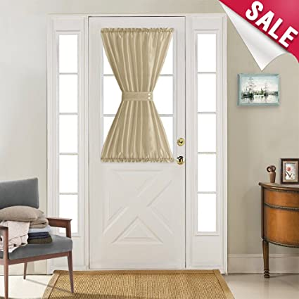 Amazon Com French Door Curtain Panels 40 Inches Long Curtains For