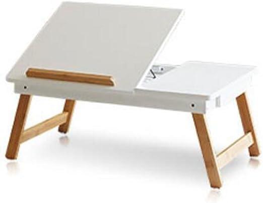 GHGJU Laptop Cama De Mesa Dormitorio Loft Plegable Mesa De Estudio ...