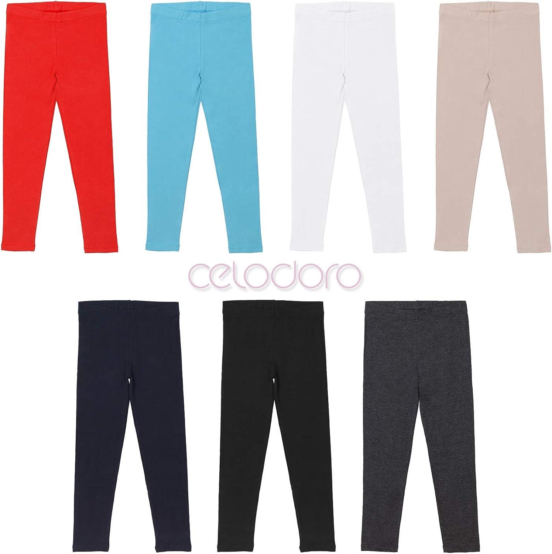 Leggings de Cotone Pantaloni da Bambini