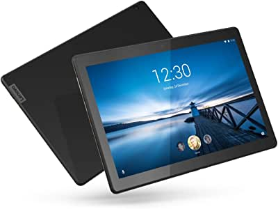 Lenovo Smart Tab M10, 10.1-Inch Alexa-Enabled Android Smart Device Tablet, Octa-Core Processor, 1.8GHz, 32GB Storage, Slate Black Touchscreen Tablet with Alexa Enabled Charging Dock Included