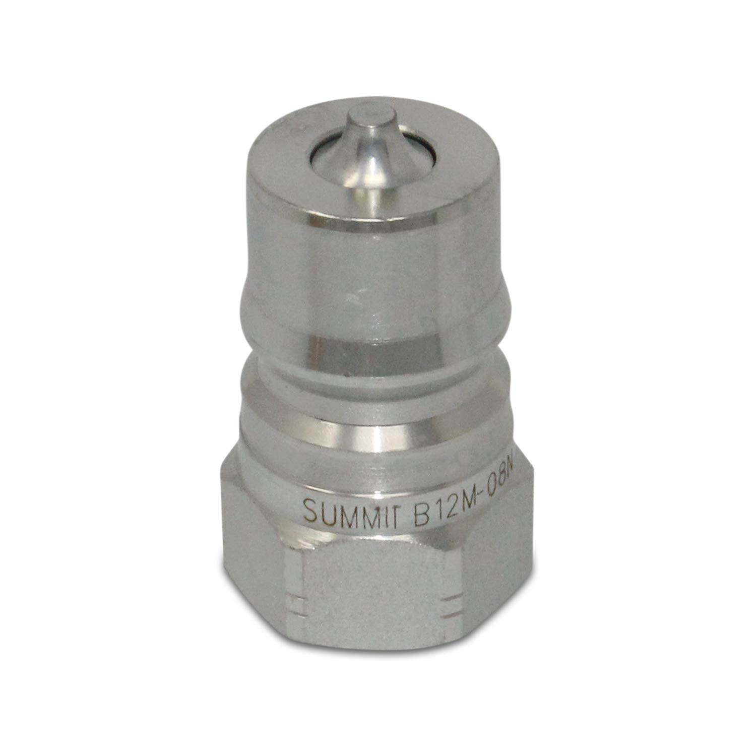 1//2/″ NPT ISO 7241-B Quick Disconnect Hydraulic Male Coupler Summit Hydraulics