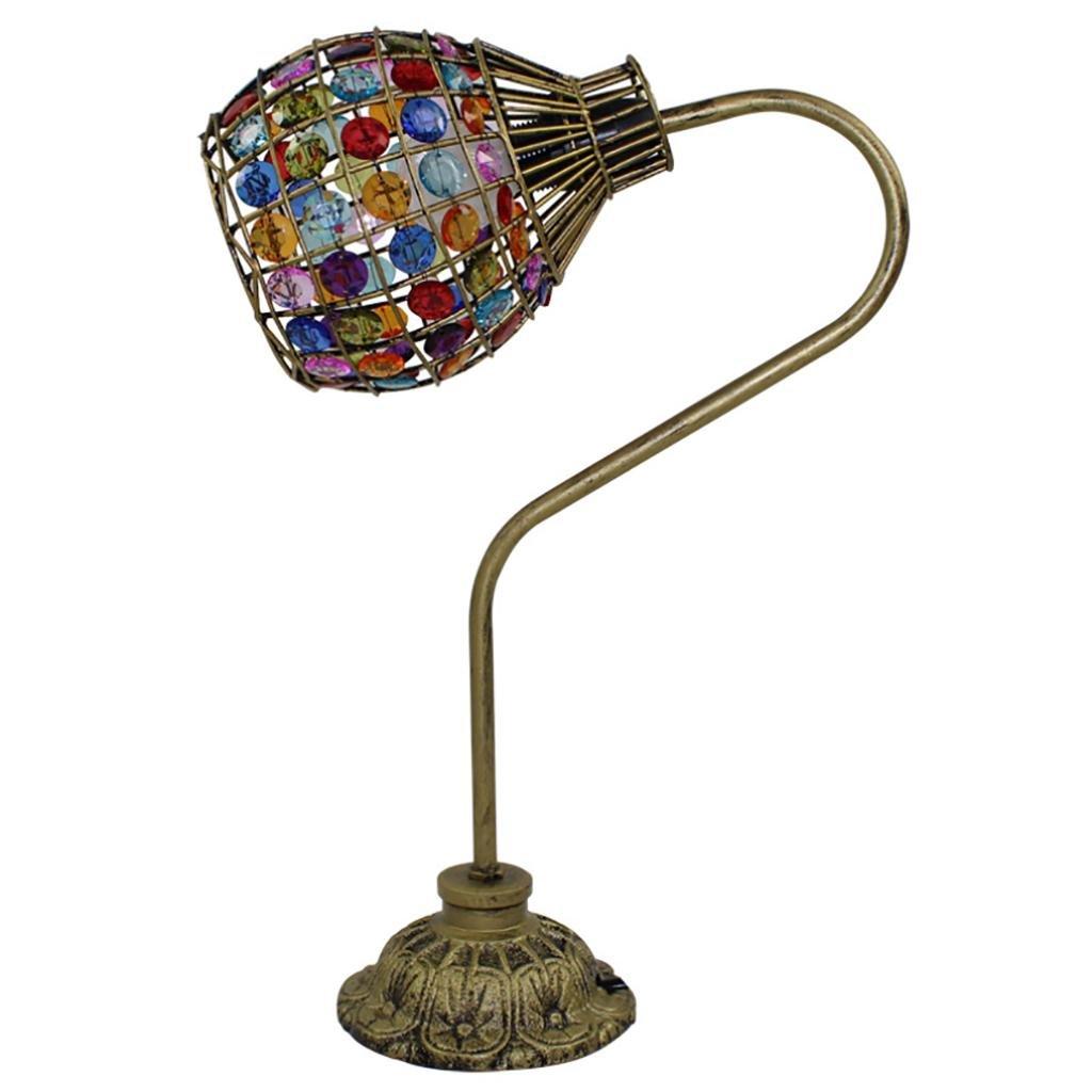 XINYE Kreativ Dimmbar Tischleuchte Acryl Bunt Perlen Schlafzimmer Einfach Nachttischlampe