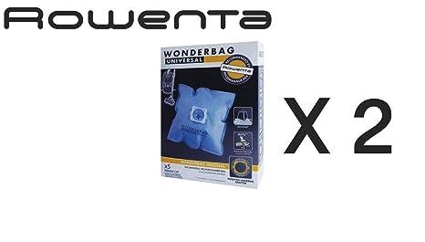 10 Bolsas Aspiradora Rowenta Wonderbag Universal 2 paquetes ...