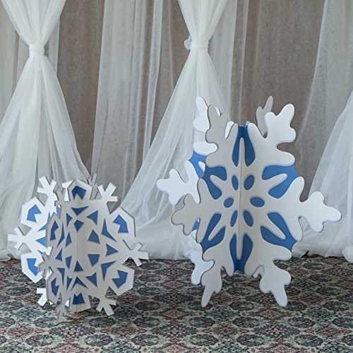 Stumps Slotted Snowflake Props