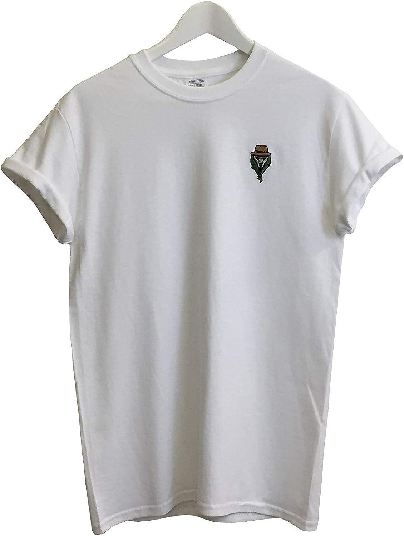 Actual Fact DR DOOM bordado Hip Hop Supreme Blanco Camiseta ...