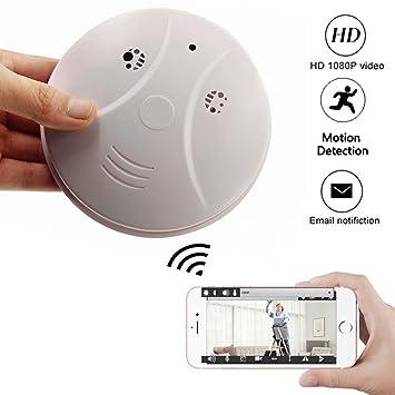 Buy Smoke Detector Camera Totuokey Wifi 1080p Camera Smoke