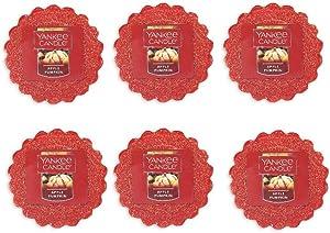 Yankee Candle Lot of 6 Apple Pumpkin Tarts Wax Melts