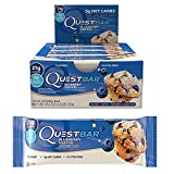 quest nutrition berry - QuestBar Blueberry Muffin 12-2.12 oz. (60g.) Bars