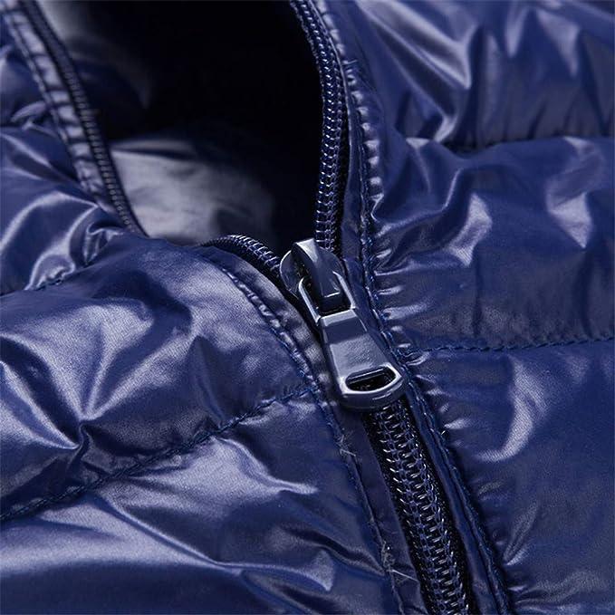 8c536ddd4c021 Zichhing Men s Vest White Duck Down Autumn Winter Vest Casual Sleeveless  Jacket at Amazon Men s Clothing store