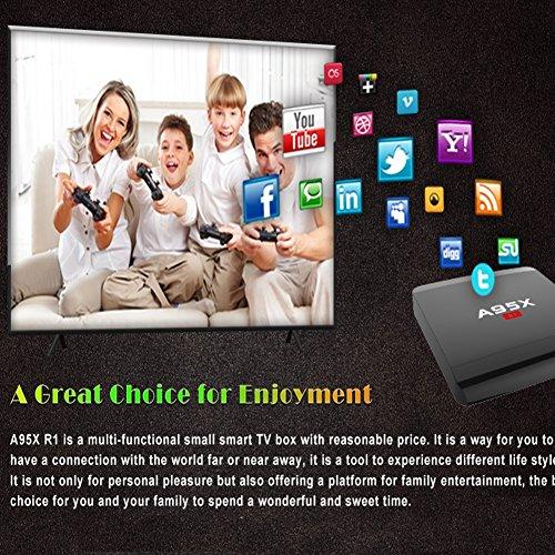 Sawpy A95XR1 Android 7.1 Smart tv Box 2G RAM+16G ROM 4K 2.4G WiFi Smart TV Box by Sawpy (Image #4)