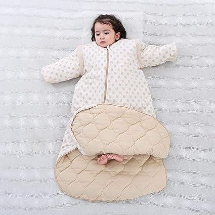Gleecare Saco de Dormir para bebé,Algodón de Color cálidos niños otoño Invierno Engrosamiento bebé