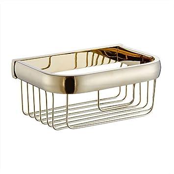 Bj almacenaje Toalla de baño de Toalla de tocador con baño de Oro Toallero de baño