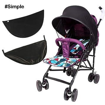 cf8bc039d Baby Stroller Sun Shade Canopy Cover Universal Infant Sun Visor ...