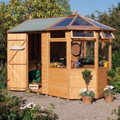 Potting Wooden Summerhouse/Log Cabin Shed