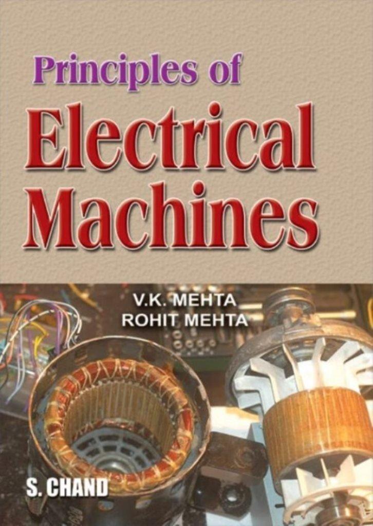 principles of electrical machines v k mehta rohit mehta