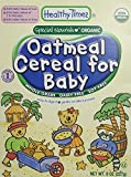 Whole Grain Oatmeal Cereal for Baby, 8 oz - Best Reviews Guide
