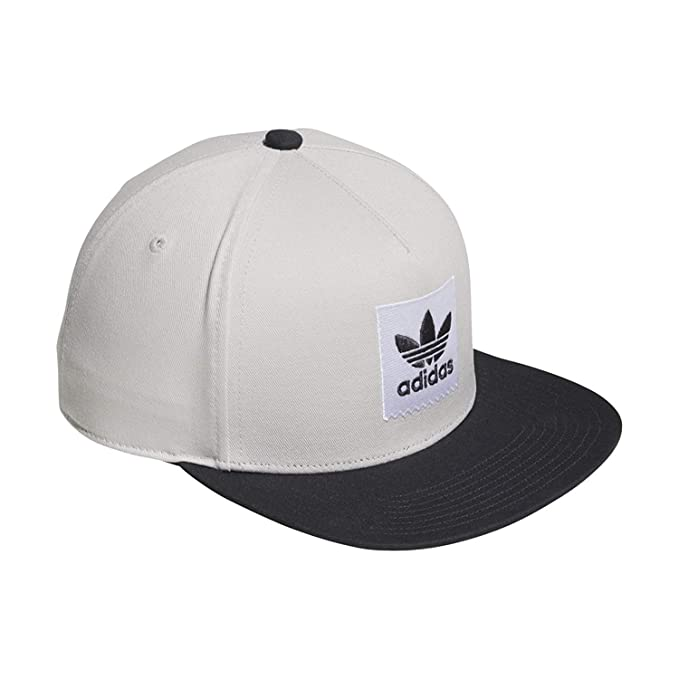 1010414f659 adidas Men s Originals Two-Tone Trefoil Snapback Hat CE2612 GREONE Carbon  OSFM