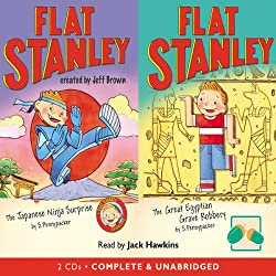 Two Flat Stanley Stories: 'The Japanese Ninja Surprise' & 'The Great Egyptian Robbery'