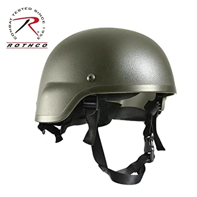 Adult Green Tactical Helmet Standard