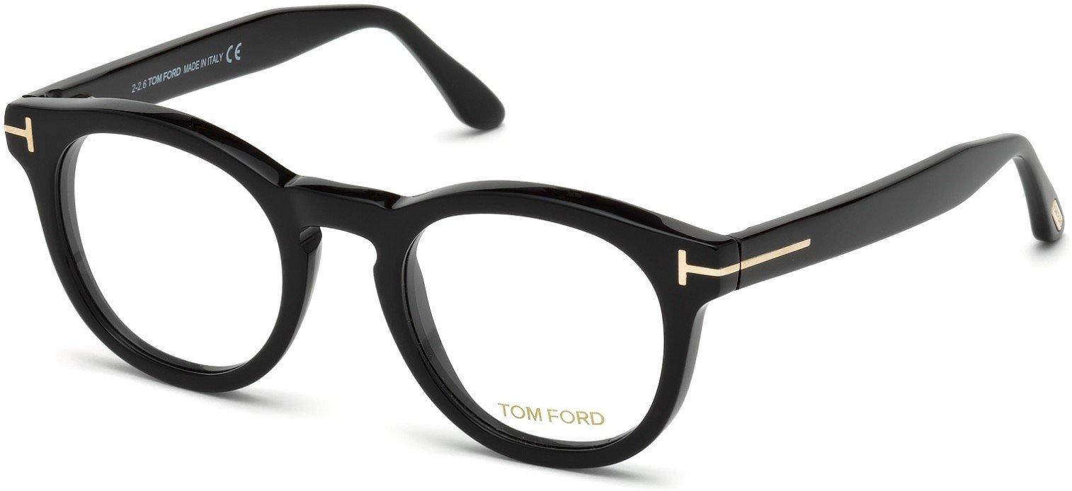 Tom Ford FT5489 Eyeglasses (001 - Shiny Black)