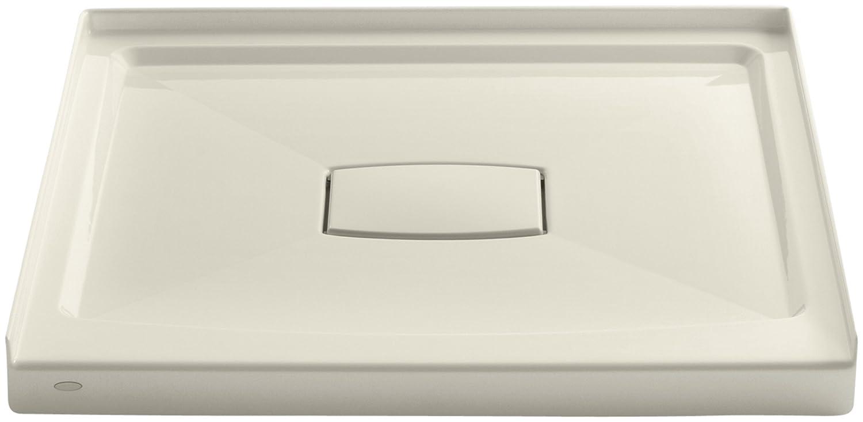 White KOHLER 9396-0 Archer Shower Receptor