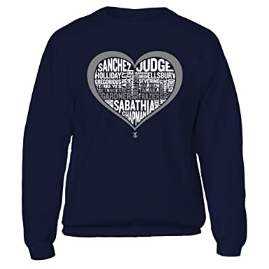 d28e1cf11 Aaron Judge Skyline Blue Crewneck Sweatshirt - Official Sports Apparel