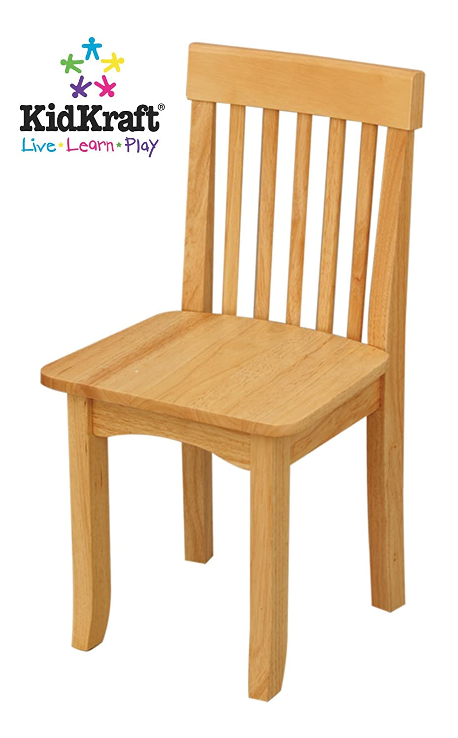 Amazon.com: KidKraft Avalon Single Chair For Children   Natural: Toys U0026  Games