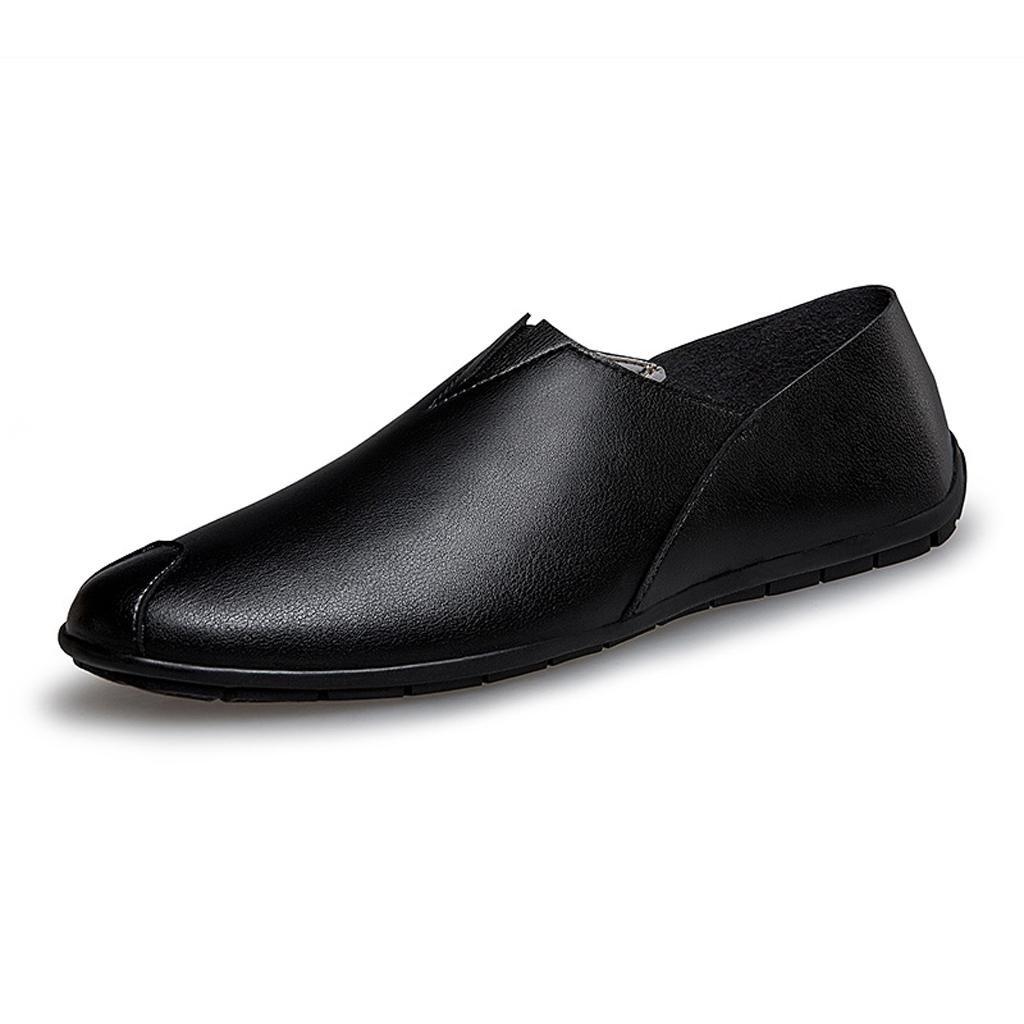 Zapatos Antideslizantes De Los Zapatos Respirable De Los Hombres Que Conducen Los Zapatos 38 EU|Black