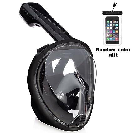 Gintenco 180° Full Face Snorkel Mask. Anti-Fog and Anti-Leak Free