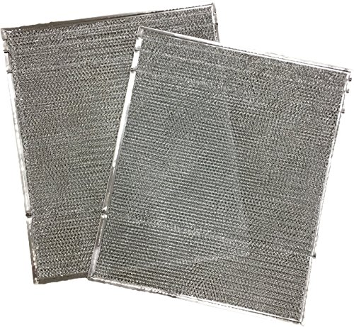 "Duraflow Filtration 917763 Metal Mesh Filter, Fits Nordyne 917763 A-Coils, One Pair, 19"" H, 0.125"" W, 16"" L (Pack of 2)"